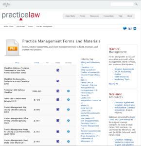 Practicelaw Form